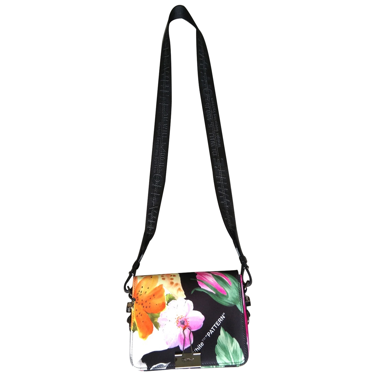Off-white Binder Silk handbag for Women \N