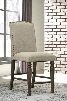 Lettner Collection D733124 Upholstered Barstool  in