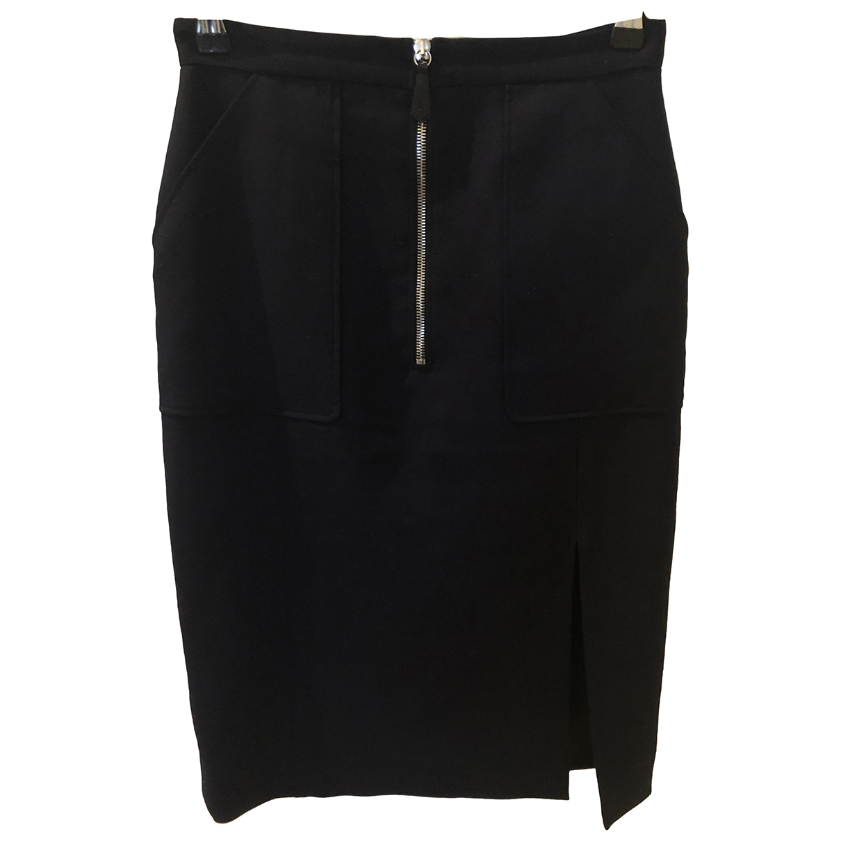Altuzarra N Navy Wool skirt for Women 36 FR