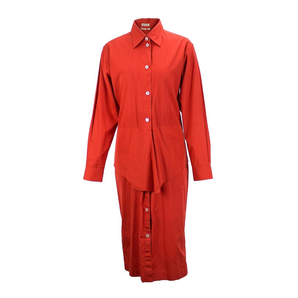 Hermès \N Cotton dress for Women 42 FR