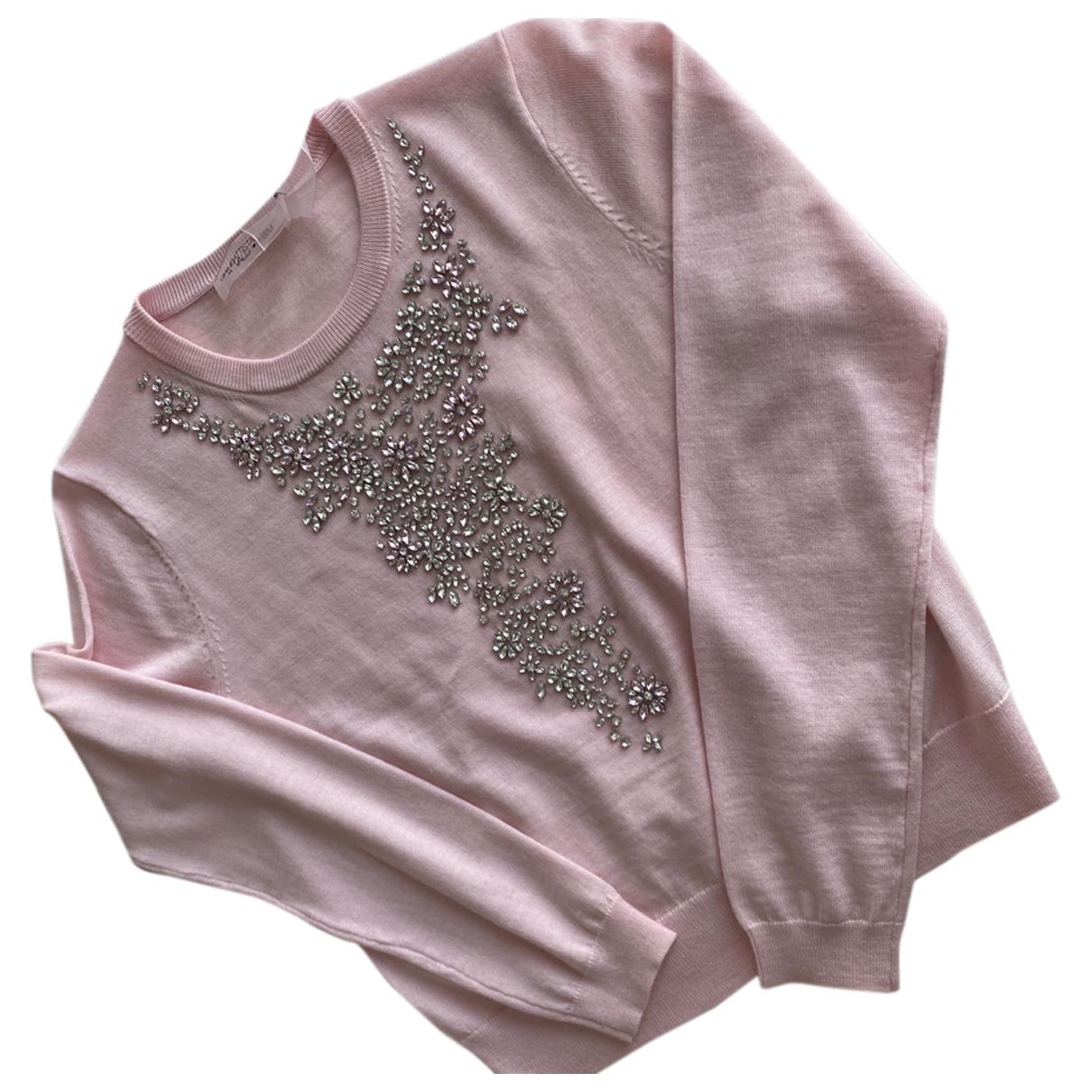 Giambattista Valli X H&m - Pull   pour femme en laine - rose
