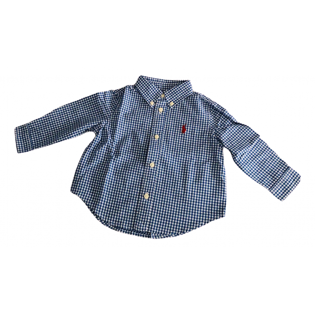 Ralph Lauren \N Blue Cotton  top for Kids 9 months - up to 71cm FR