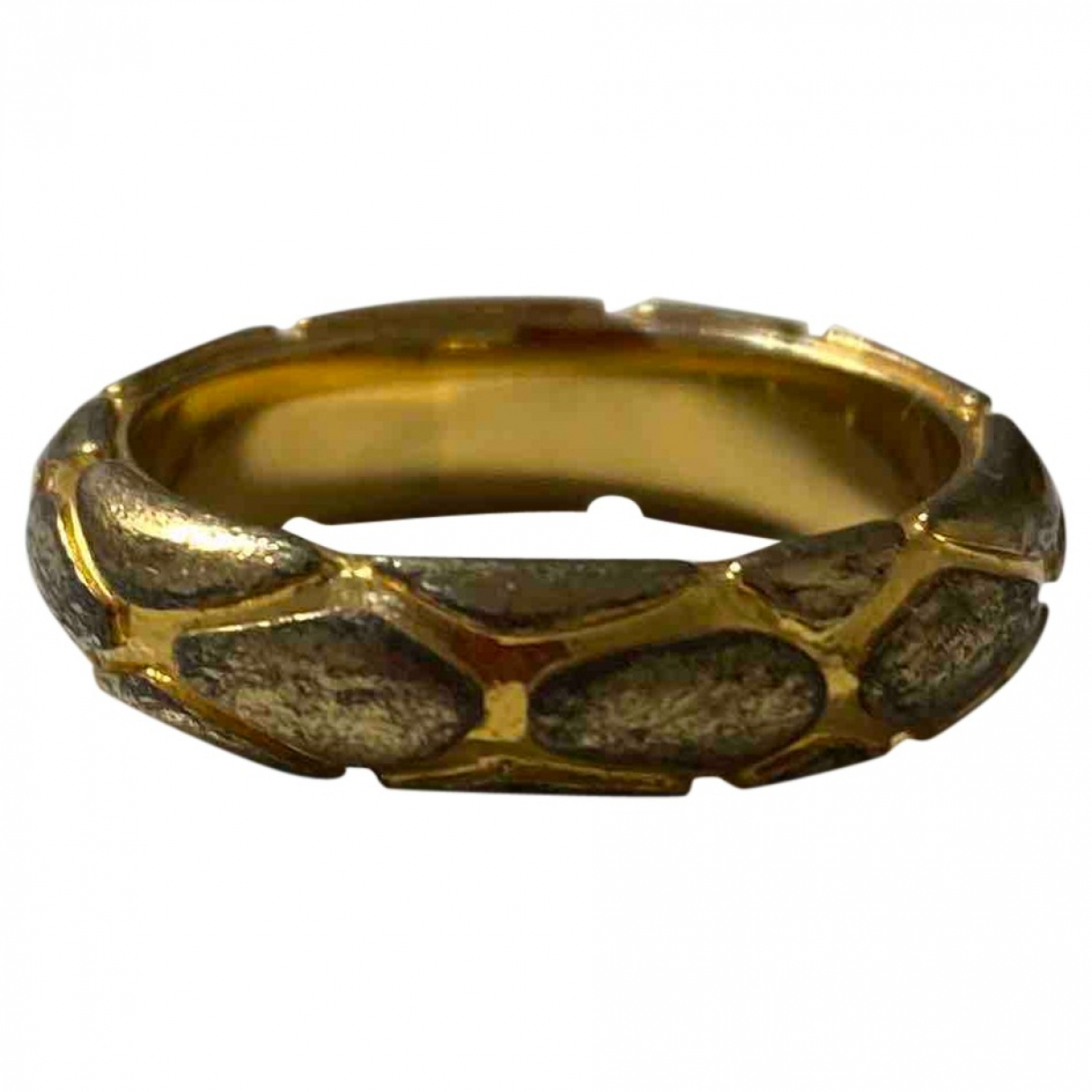Just Cavalli \N Ring in  Gold Metall