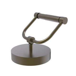 Allied Brass Vanity Top Toilet Tissue Holder (Matte Black)