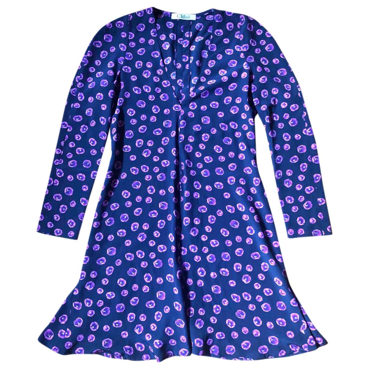 Chloé N Silk dress for Women 40 IT