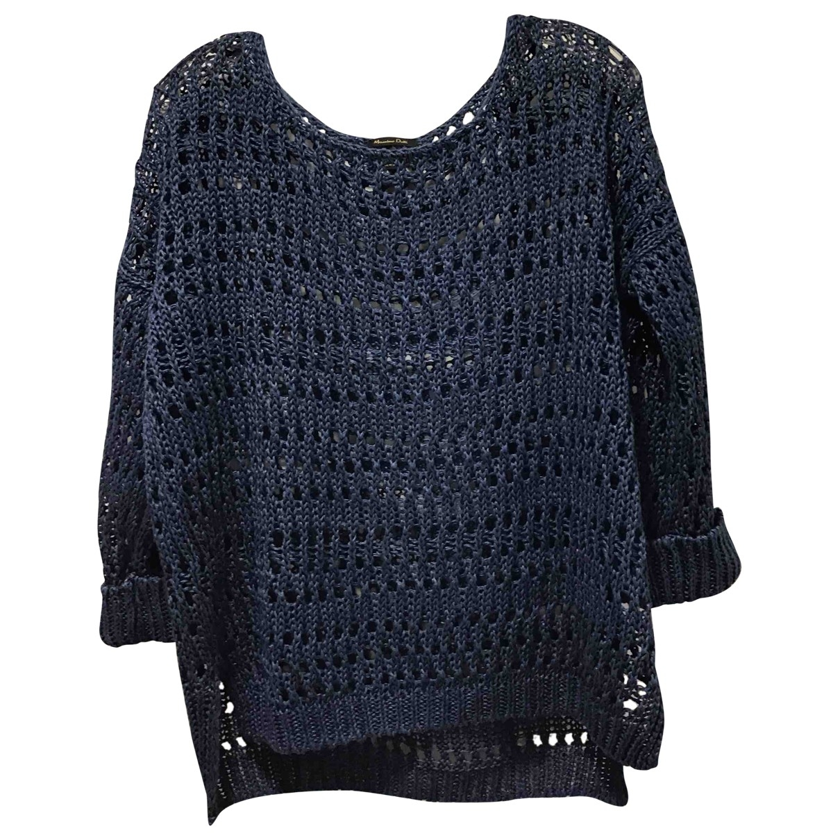 Non Signé / Unsigned \N Blue Knitwear for Women 32 FR