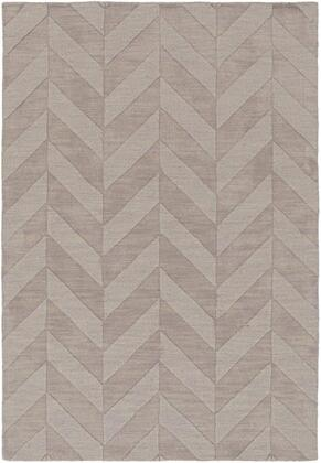 AWHP4025-46 4' x 6' Rug  in Taupe and