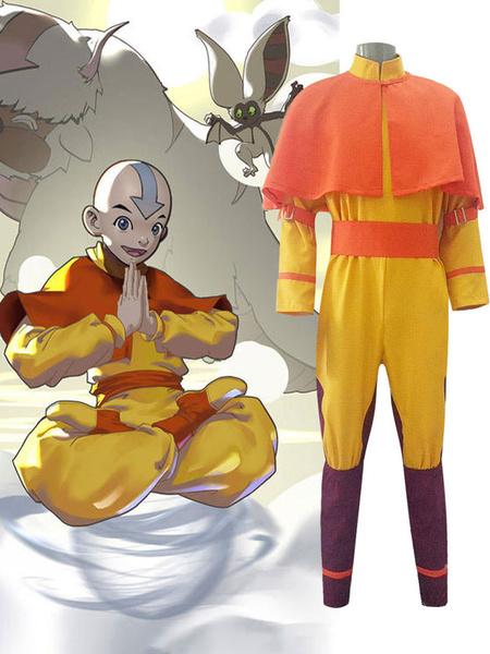 Milanoo Disfraz de Cosplay de Avatar The Last Airbender Aang