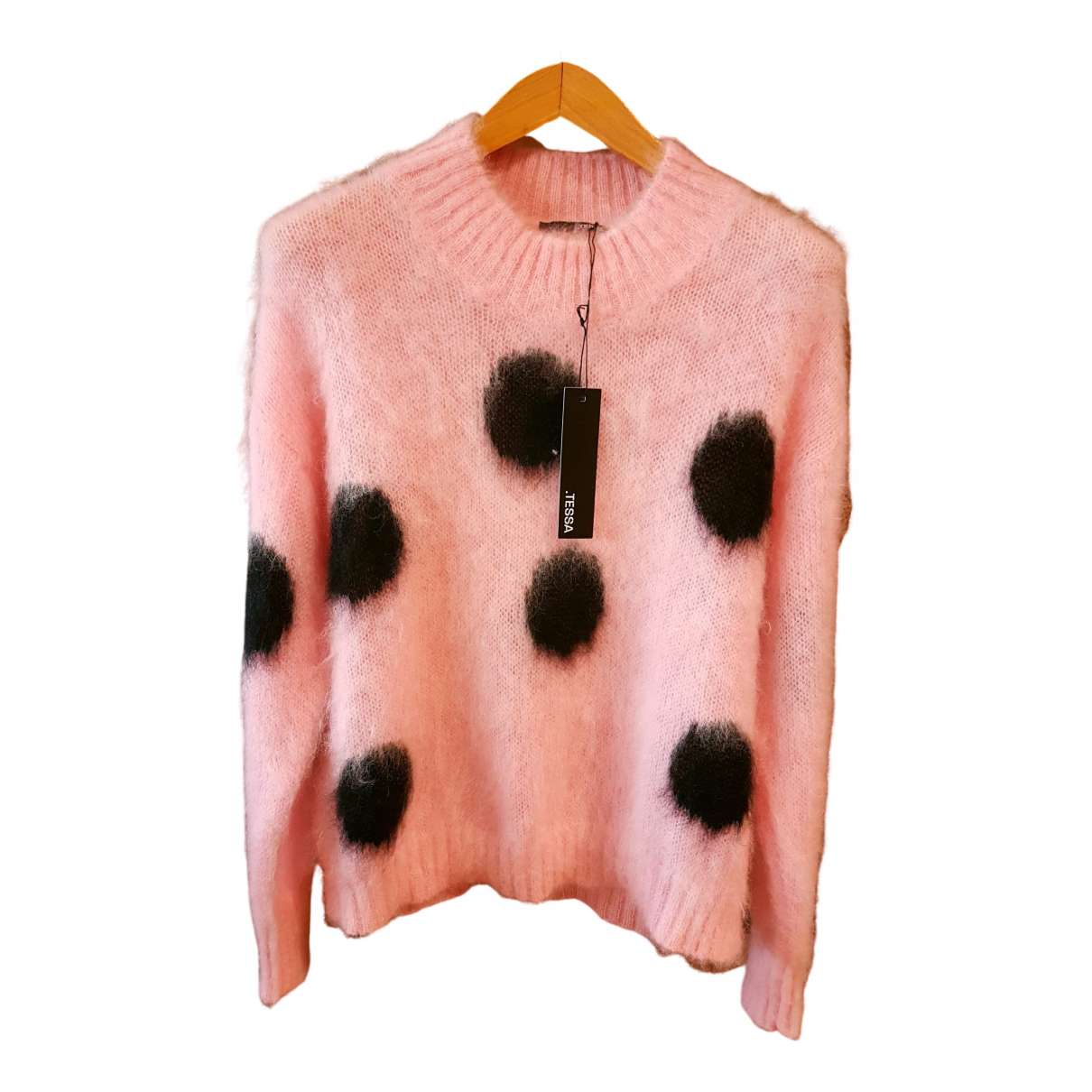 Non Signé / Unsigned \N Pink Wool Knitwear for Women M International