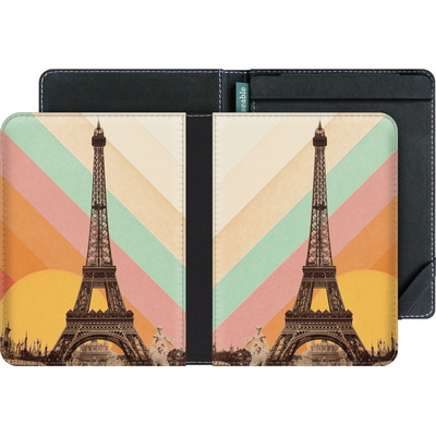 tolino vision 2 eBook Reader Huelle - Eiffel Tower Rainbow von Florent Bodart
