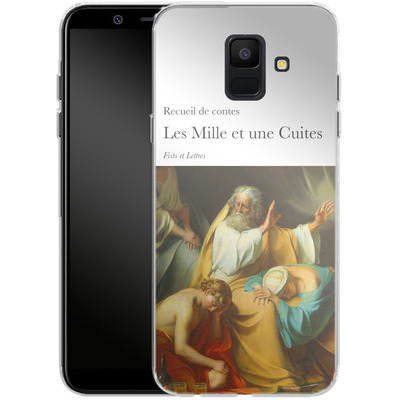 Samsung Galaxy A6 Silikon Handyhuelle - Mille Et Une Cuites von Fists Et Lettres