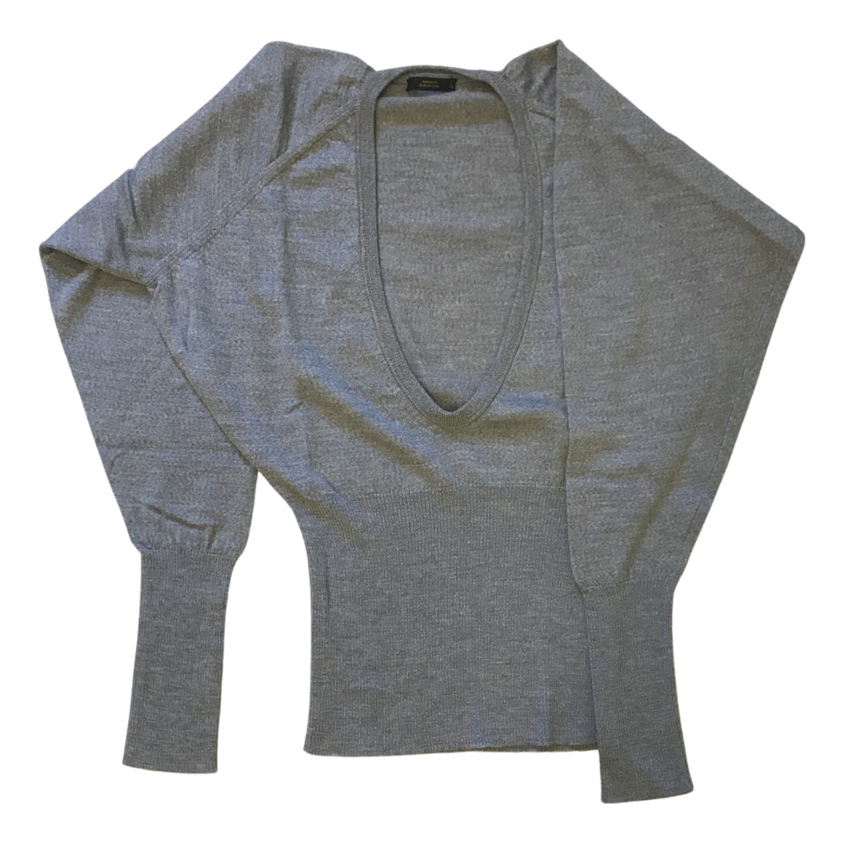 Mauro Grifoni - Pull   pour femme en laine - gris