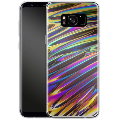 Samsung Galaxy S8 Silikon Handyhuelle - Twist von Danny Ivan