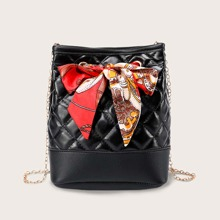 Twilly Scarf Quilted Chain Bag