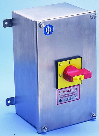 Kraus & Naimer 6 Pole Non Fused Isolator Switch - 32 A Maximum Current, 11 kW Power Rating, IP65