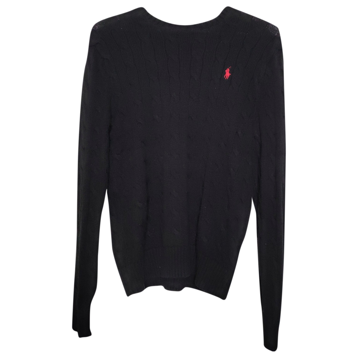 Polo Ralph Lauren \N Black Cotton Knitwear & Sweatshirts for Men XS International