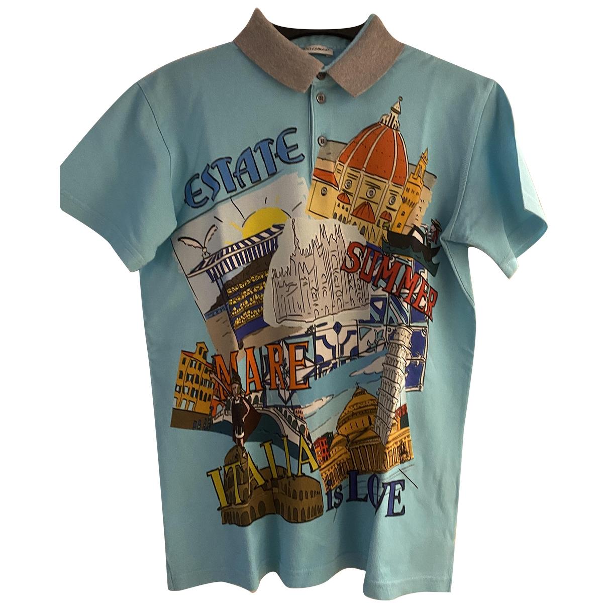 Camisetas en Algodon Multicolor Dolce & Gabbana