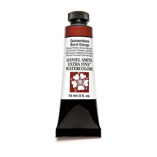 Daniel Smith Extra Fine™ Watercolor, 15 ml Paint in Quinacridone Burnt Orange | Michaels®