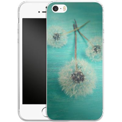 Apple iPhone 5s Silikon Handyhuelle - Three Wishes von Joy StClaire