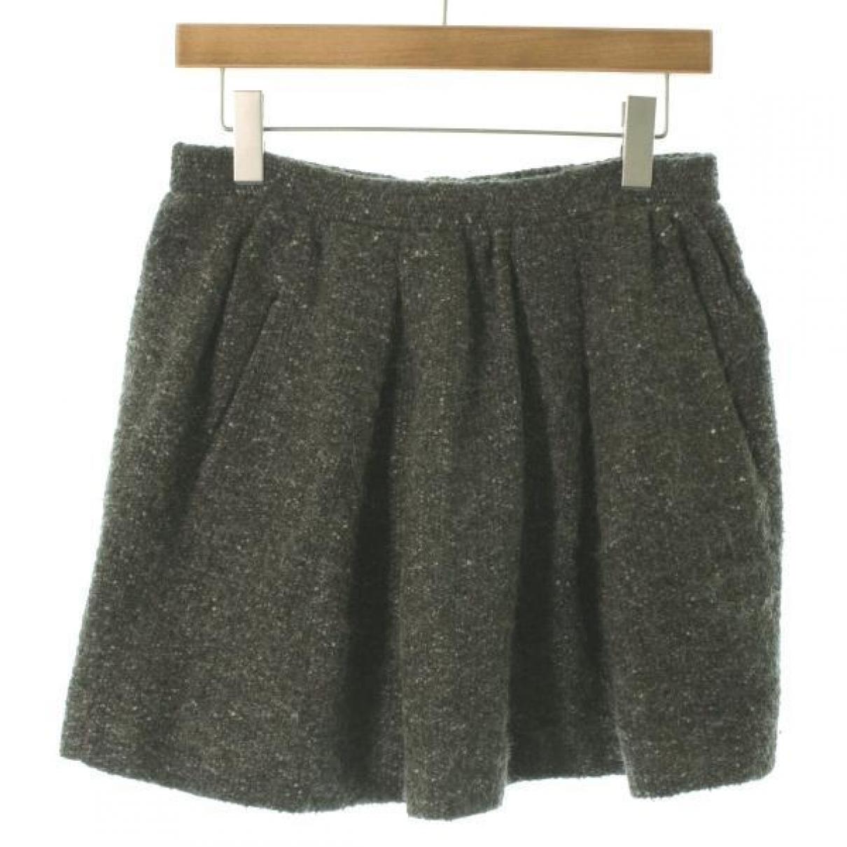 Isabel Marant \N Rocke in  Khaki Wolle