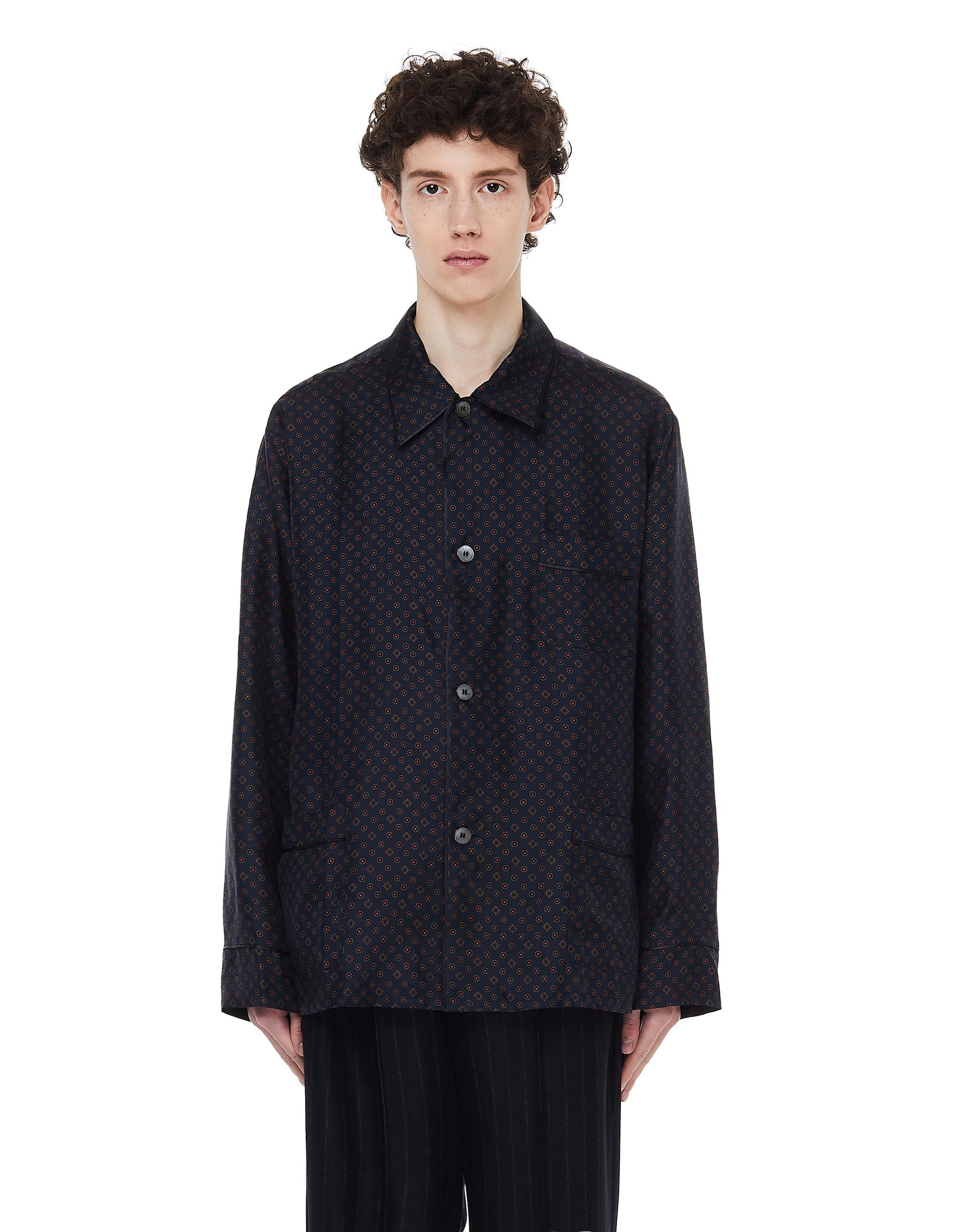 Maison Margiela Silk Sleeping Shirt