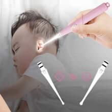 Cuchara de oreja con luz
