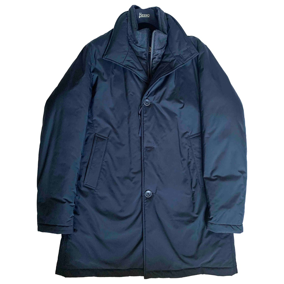 Herno \N Jacke in  Blau Polyester