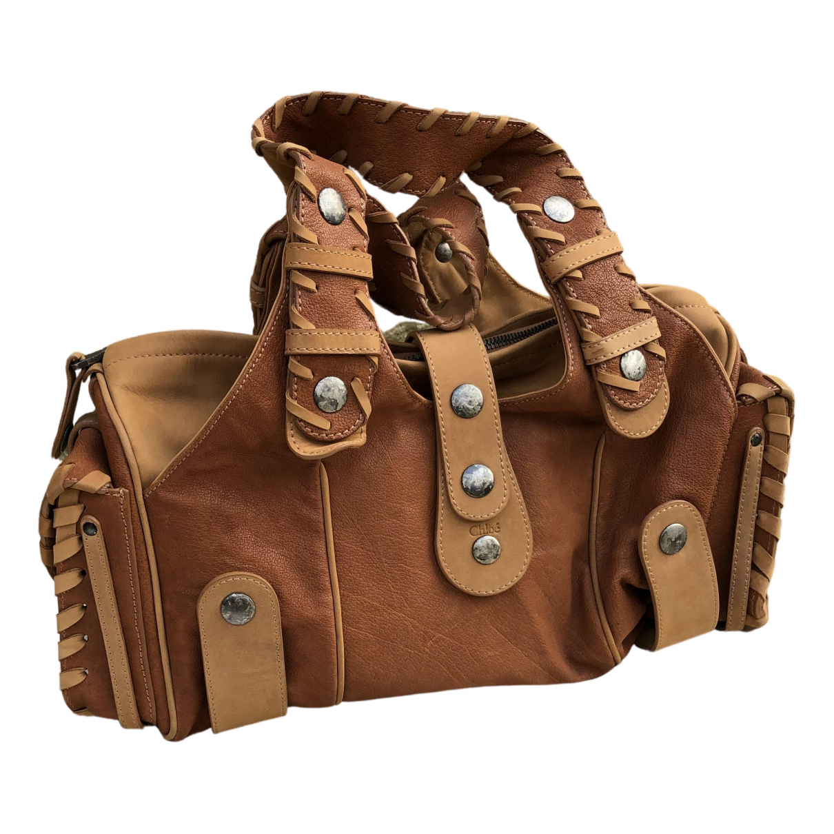 Chloé Silverado Brown Leather handbag for Women \N