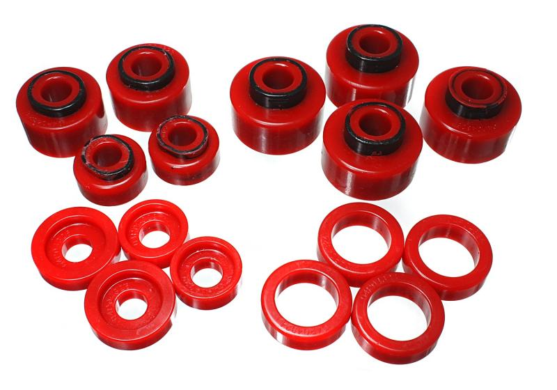 Energy Suspension 4.4120R Body Mount Set Ford 1999-2007