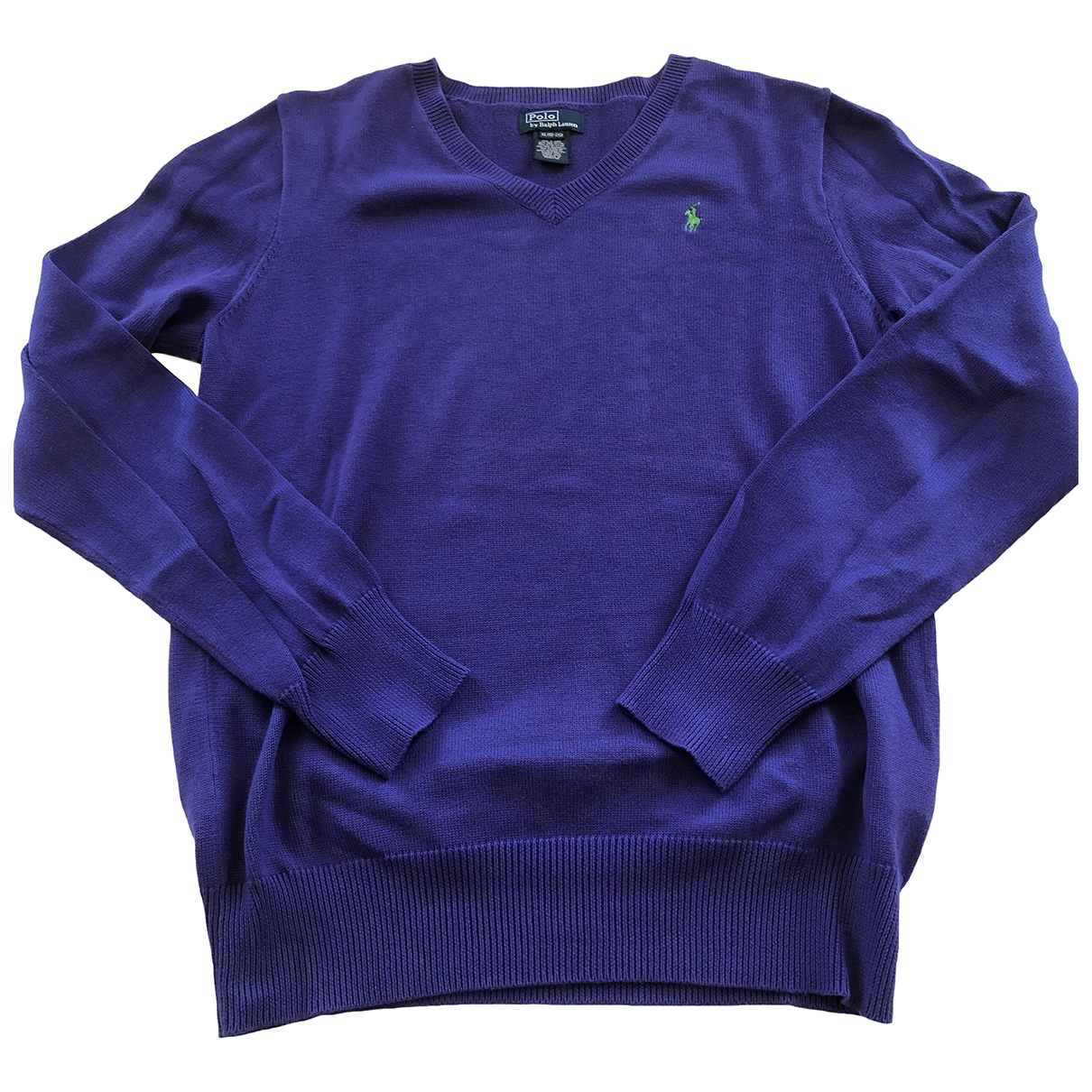 Polo Ralph Lauren \N Purple Cotton Knitwear for Kids 20 years - XL UK
