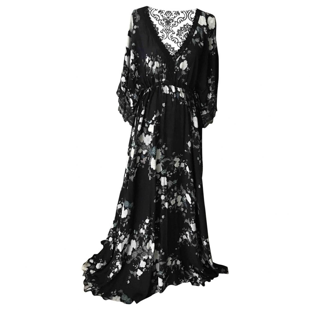 Non Signé / Unsigned \N Black Cotton dress for Women 14 UK