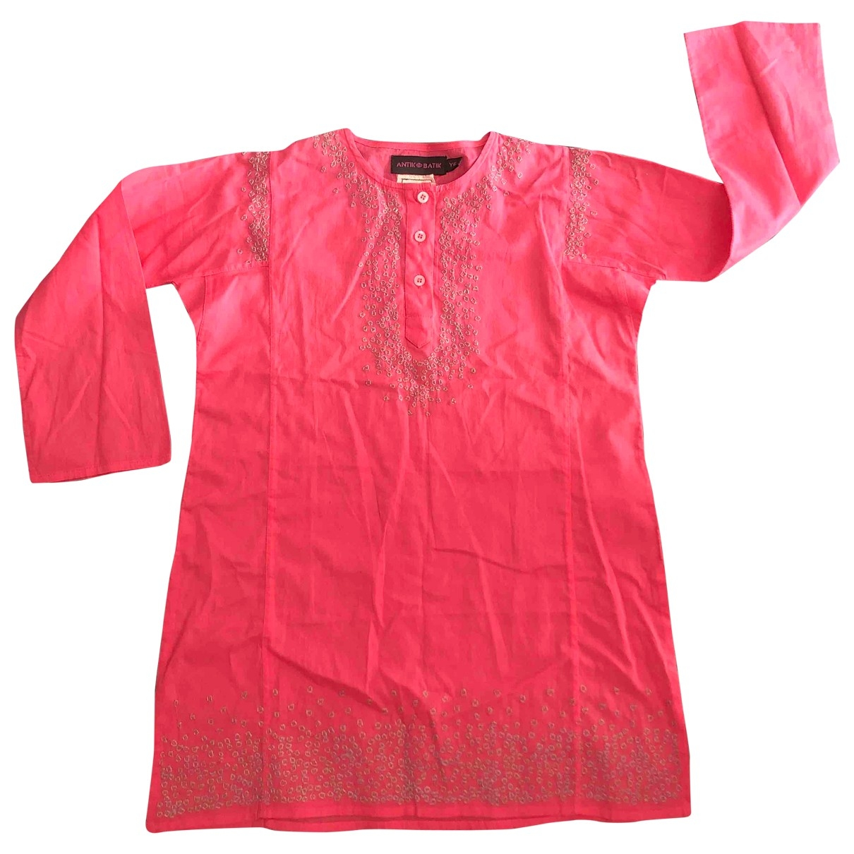 Antik Batik \N Pink Cotton dress for Kids 6 years - up to 114cm FR