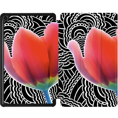 Amazon Fire 7 (2017) Tablet Smart Case - Tulips von Kaitlyn Parker