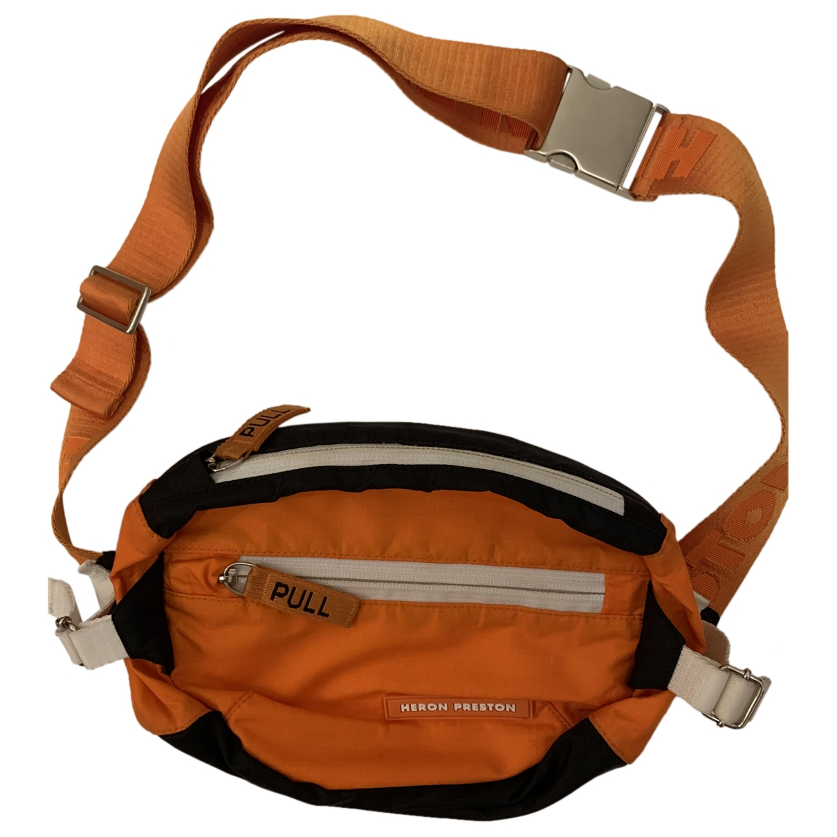 Heron Preston \N Guerteltaschen in  Orange Synthetik