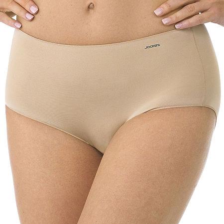 Jockey No Panty Line Promise Tactel Microfiber Brief Panty 1372, 9 , Brown