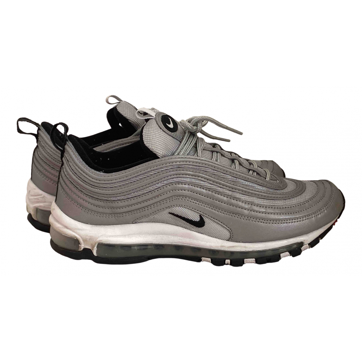 Nike Air Max 97 Sneakers in  Silber Polyester