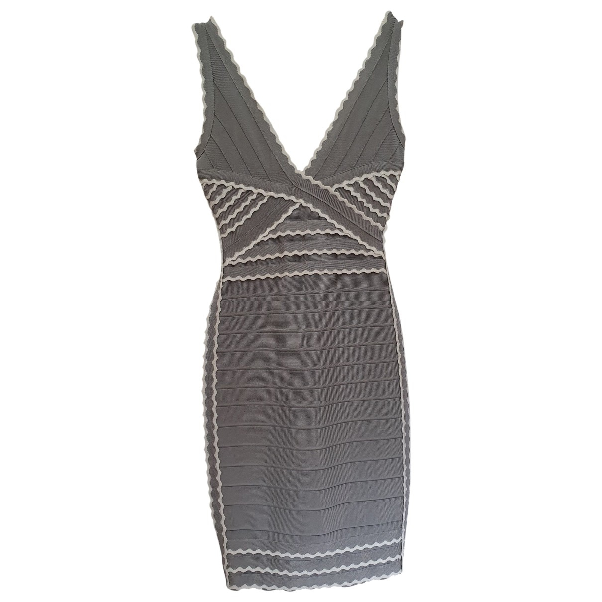 Herve Leger \N Grey dress for Women XS International