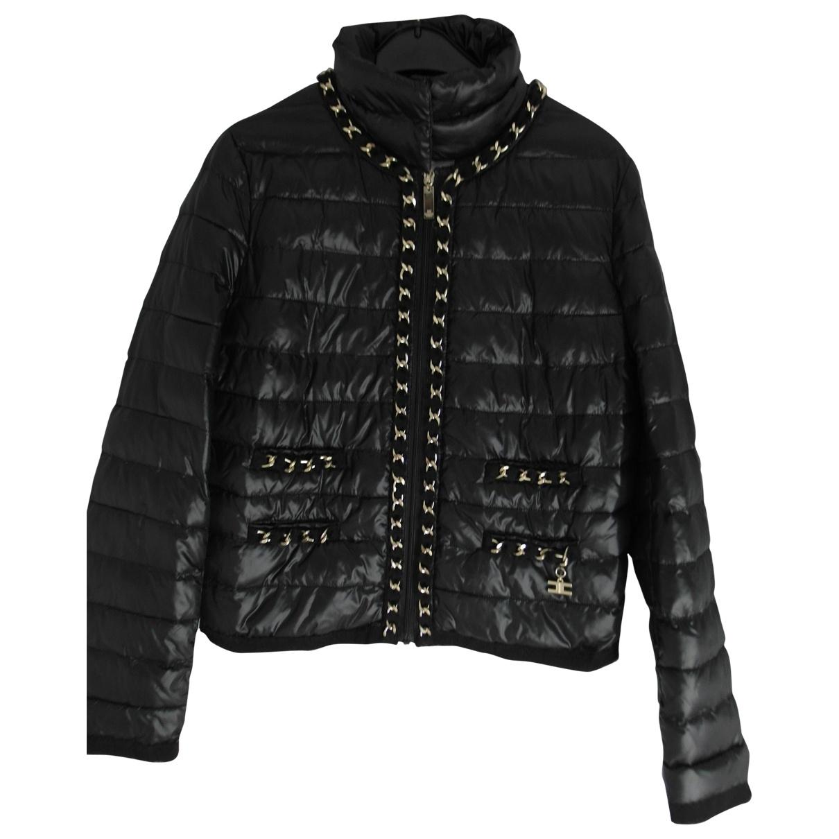 Elisabetta Franchi \N Black jacket for Women 44 IT