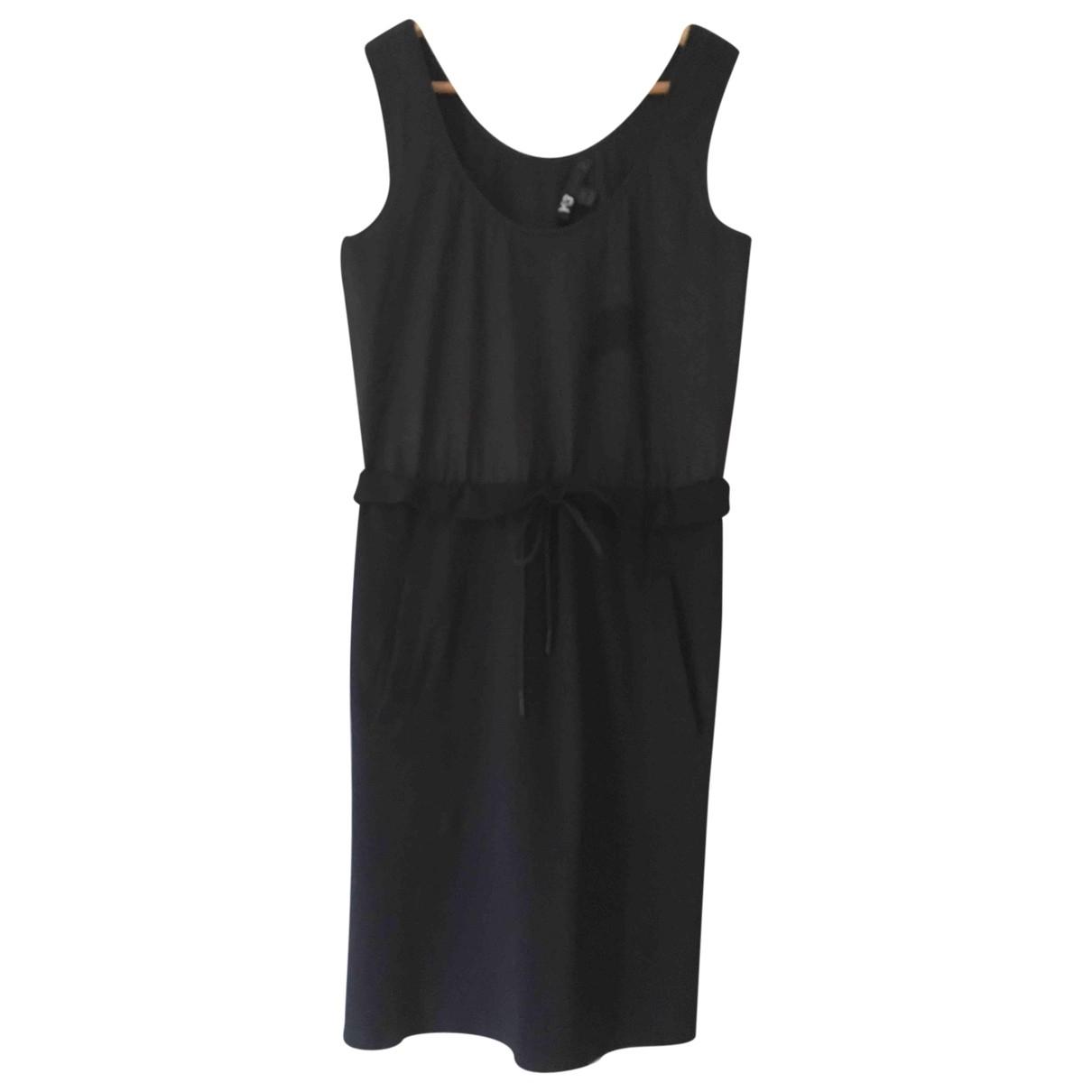 Y-3 \N Kleid in  Schwarz Viskose