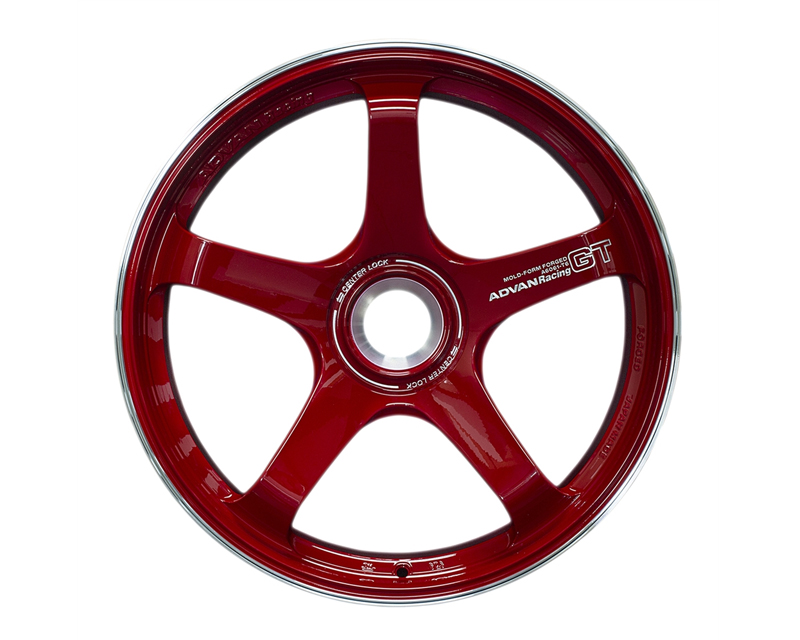 Advan GT Premium Wheel 20x12 Center Lock 44mm Racing Red