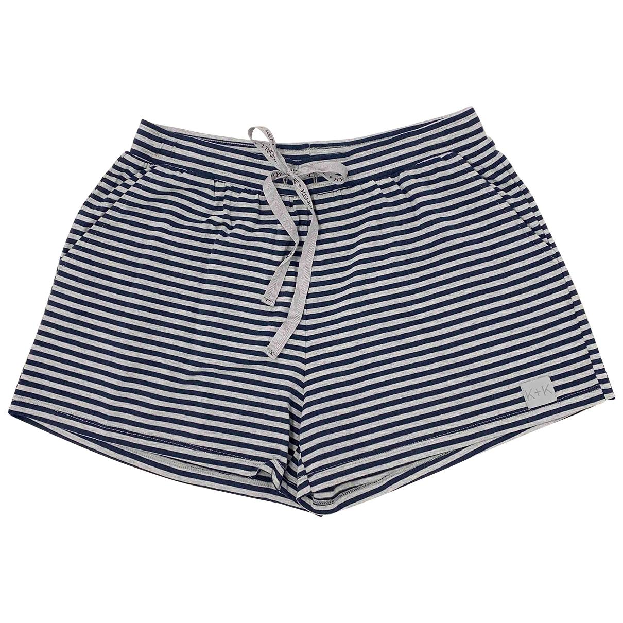 Kendall + Kylie \N Shorts in  Grau Baumwolle