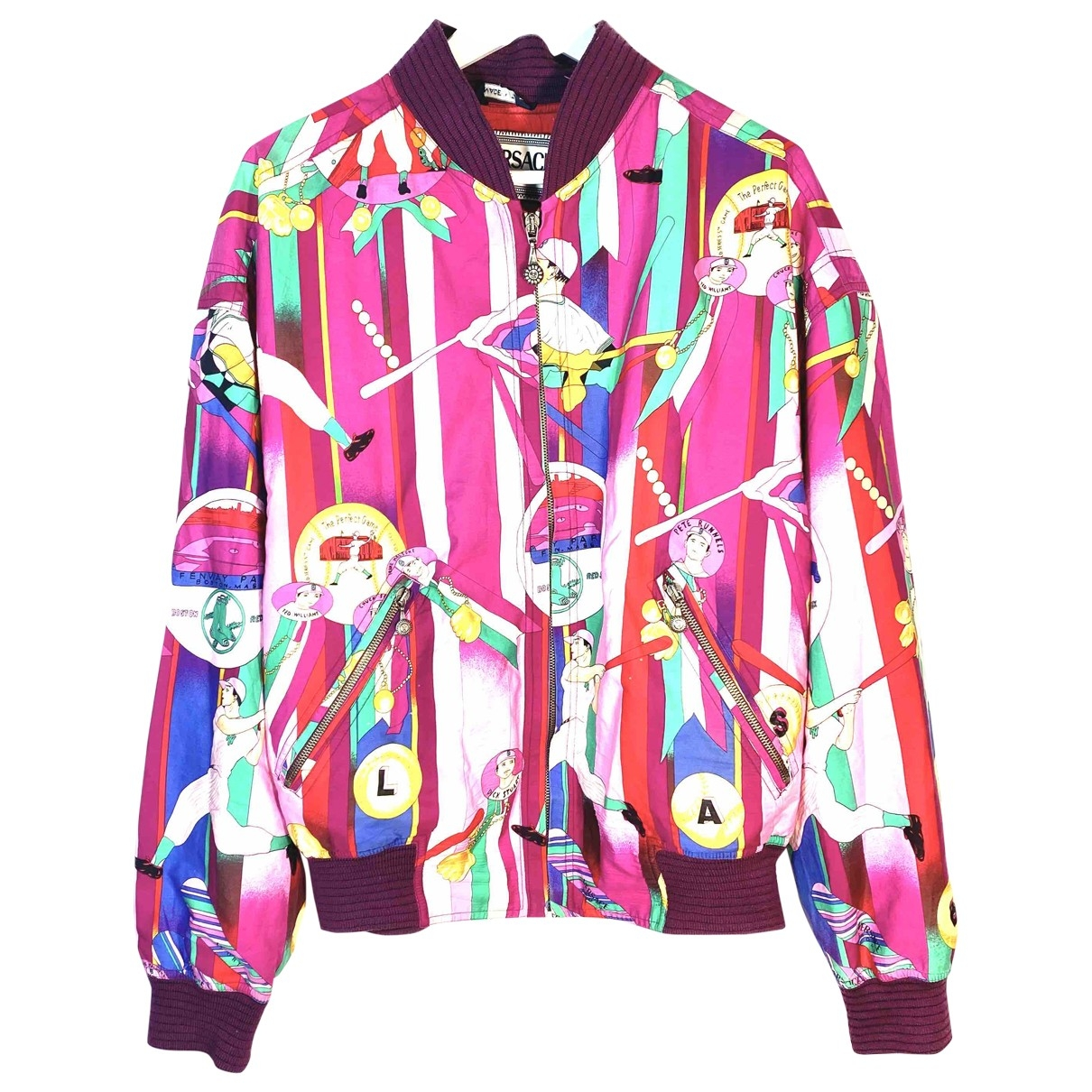 Versace \N Multicolour Cotton jacket  for Men L International
