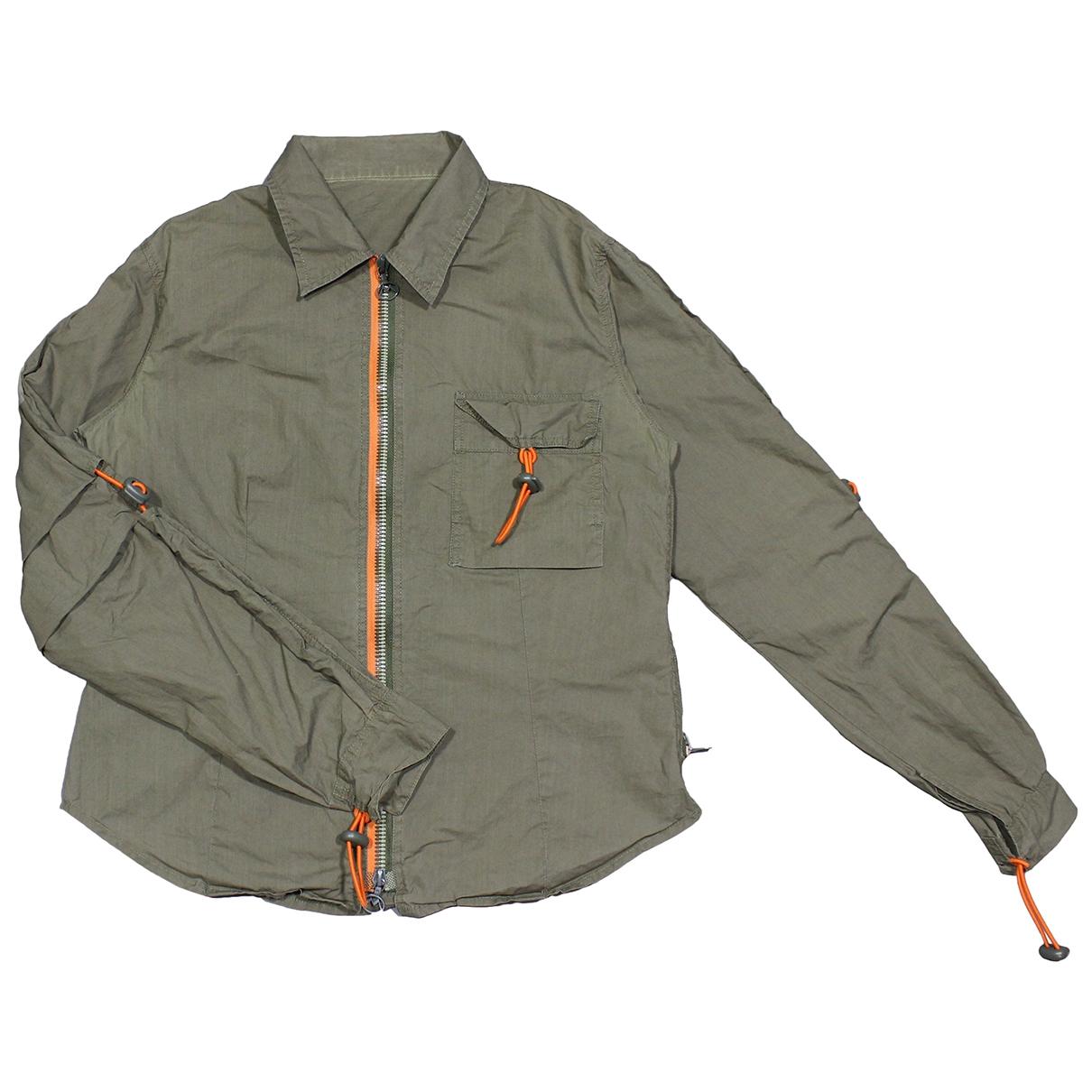 Maharishi \N Khaki Cotton jacket for Women 10 UK