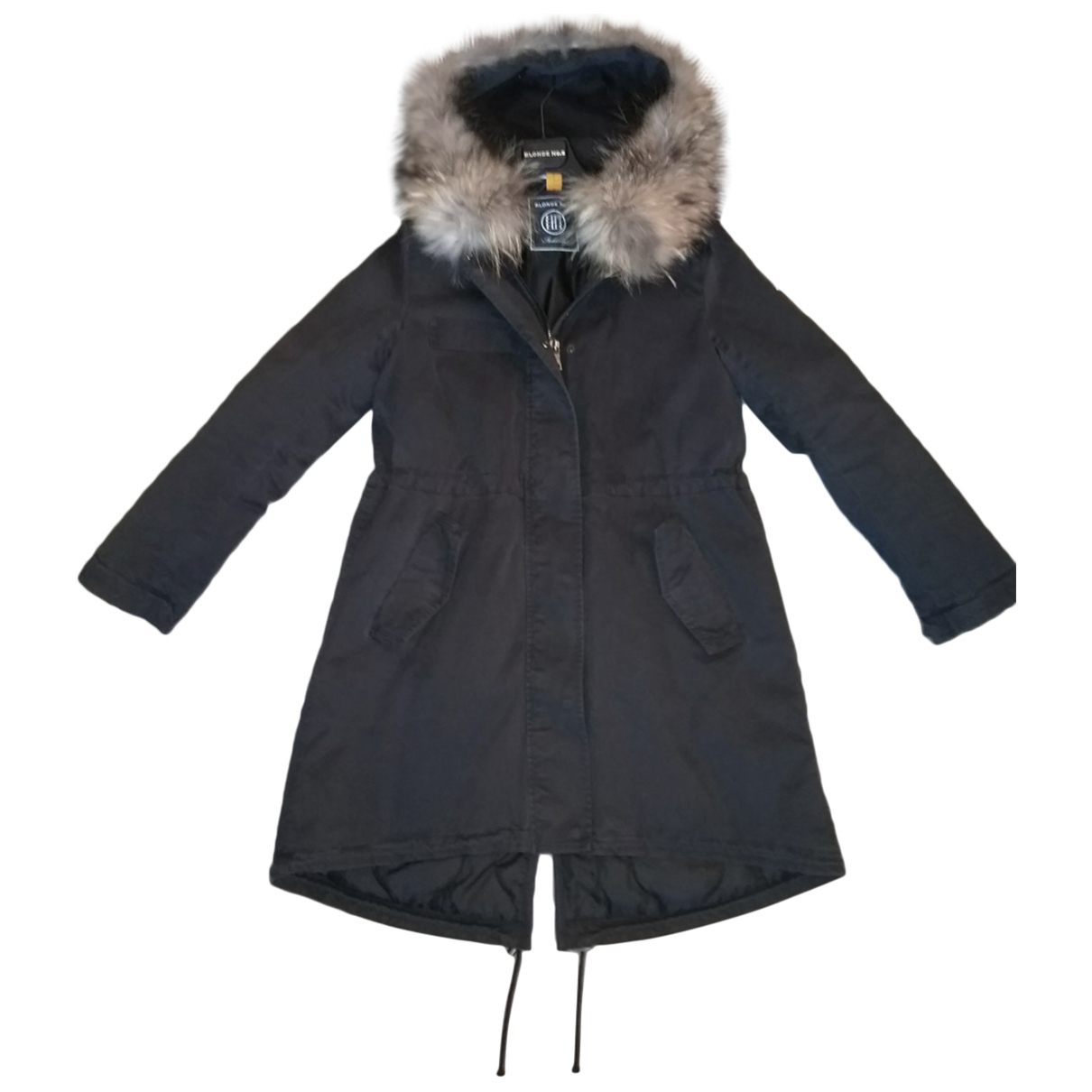 Blonde No.8 \N Anthracite Cotton coat for Women M International