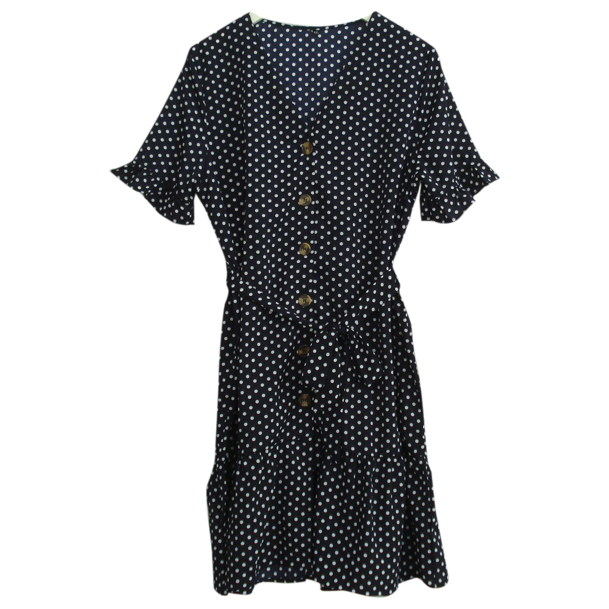 Non Signé / Unsigned \N Navy dress for Women L International