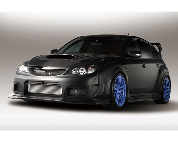 Varis VASU-137 Carbon Wide Body Full Kit D with Front VSDC Diffuser Subaru WRX GRB 08-16