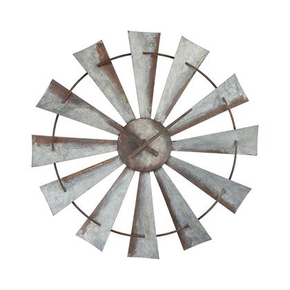351-10545 Gusto Wall Clock  In Salvaged