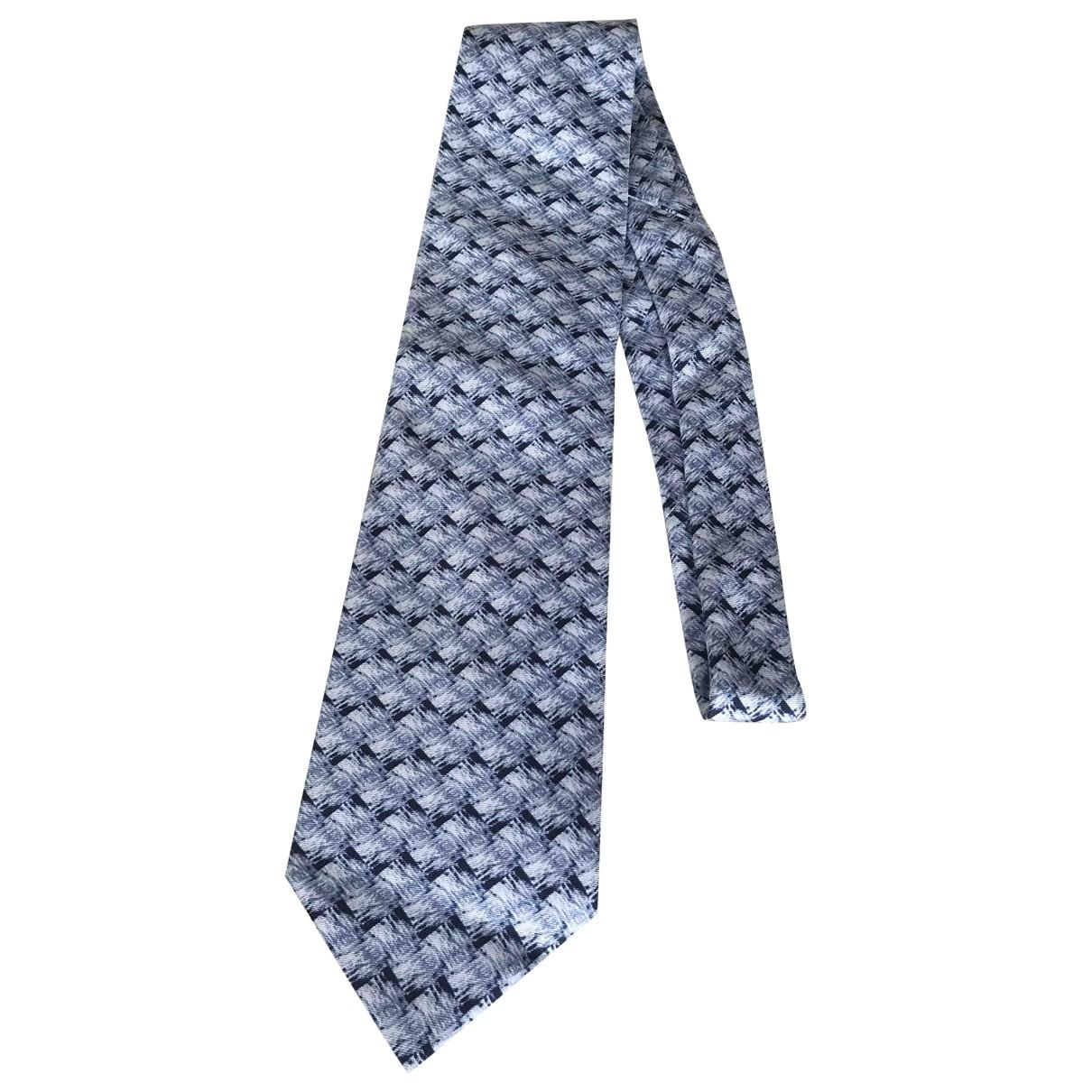 Dior Homme \N Blue Silk Ties for Men \N