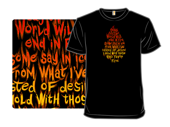 Frost And Fire T Shirt