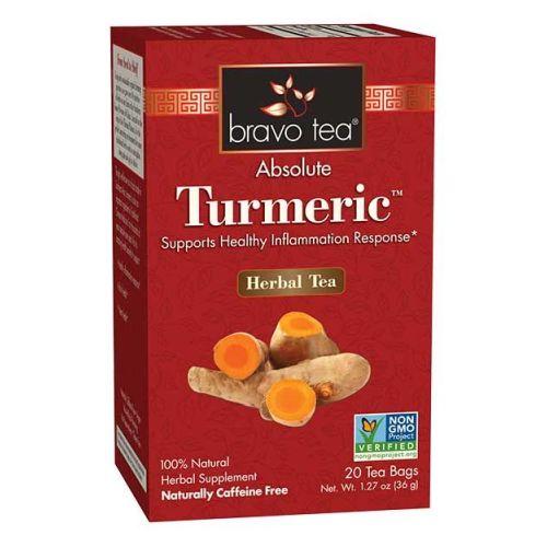 Absolute Tumeric Tea 20 bags by Bravo Tea & Herbs